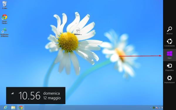 windows 8 charms bar - Guida completa a Windows 8