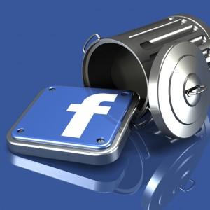 come eliminarsi da facebook