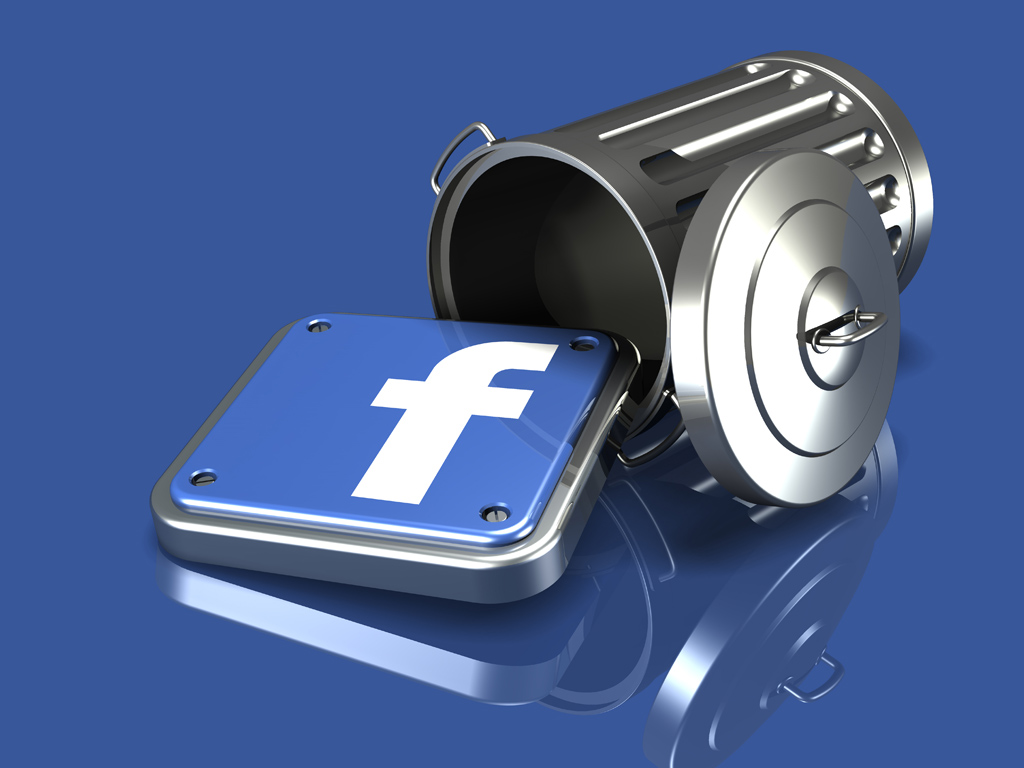come eliminarsi da facebook