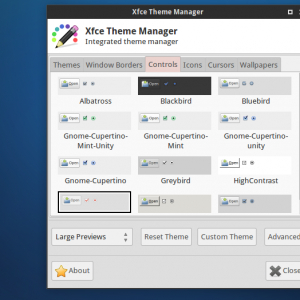 xfce theme manager 4