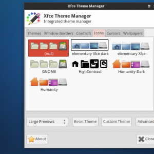 xfce theme manager 5