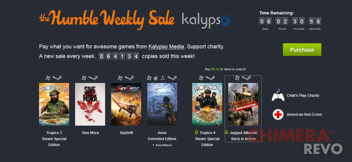 Humble Bundle Weekly Sale Kalipso