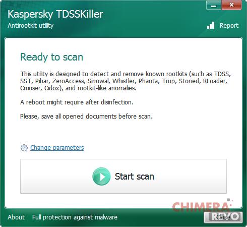 rimuovere malware