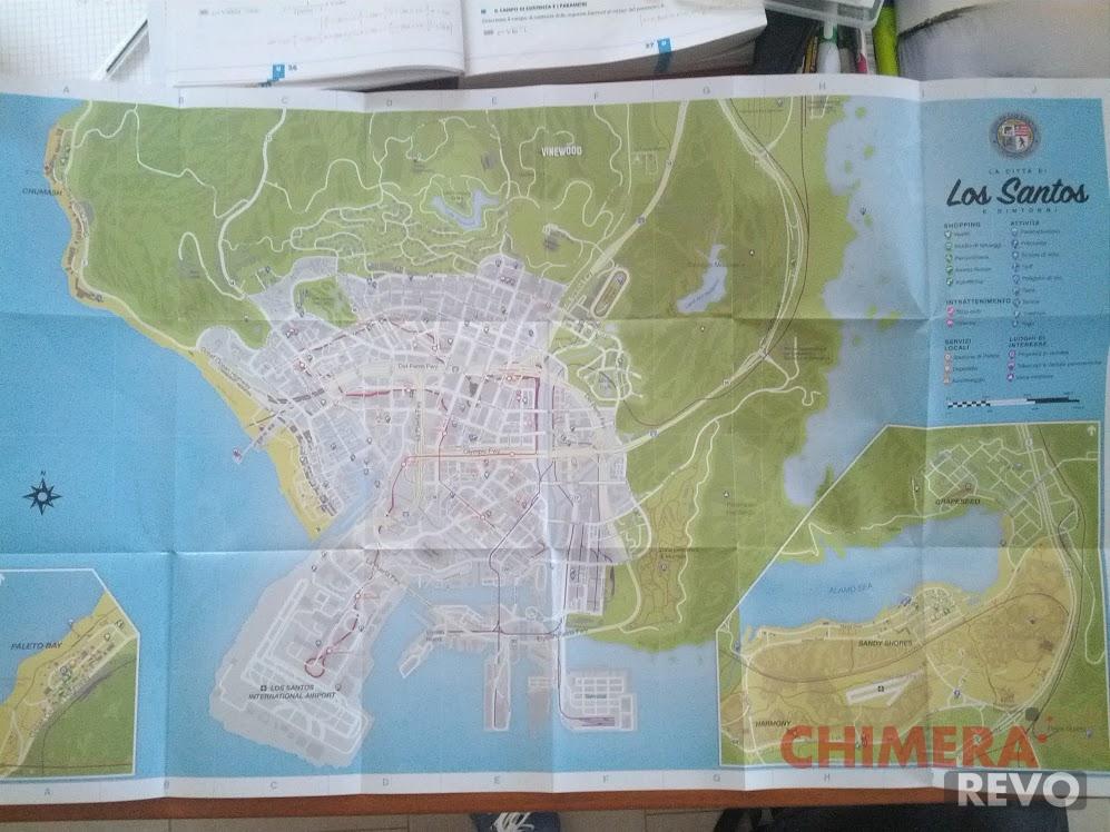 Gta V Elicottero Mappa : Gta la mappa cartacea contiene messaggi segreti