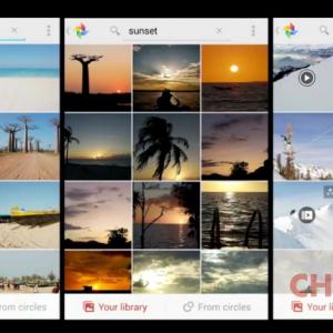 Google+ foto ricerca