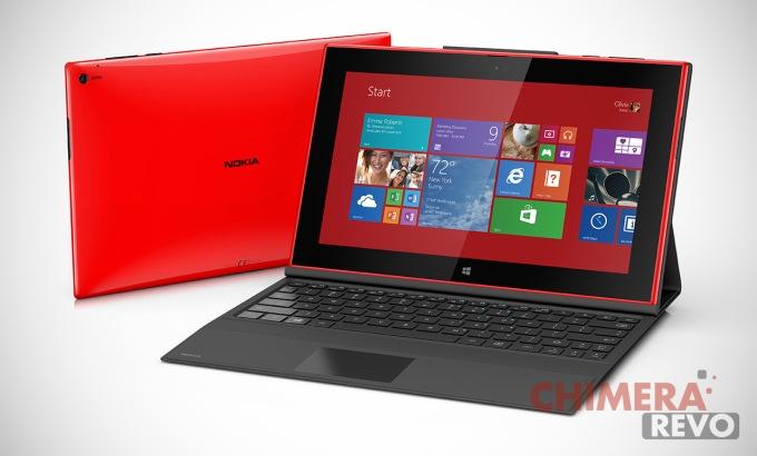Nokia Lumia 2520 con tastiera opzionale