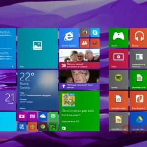 Start Screen - Sfondo desktop