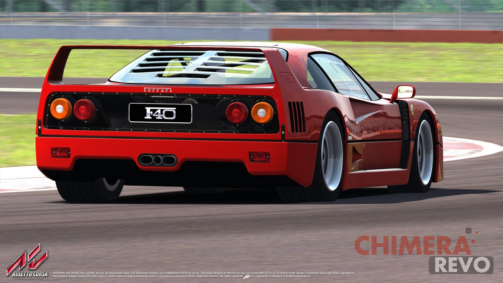 Assetto Corsa Ferrari F40 Preview
