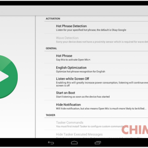 Open Mic for Google Now App Android su Google Play