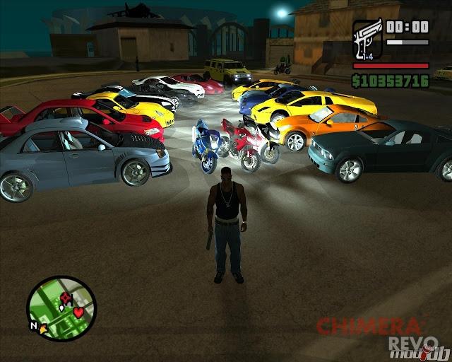 Raduno auto GTA
