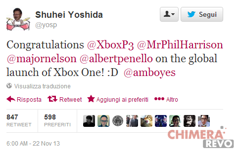 Twitter_ PlayStation_Congrats_Xbox_one_2