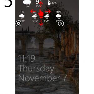 Lockscreen Windows Phone 8 Lockmix Tutorial