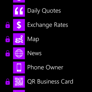 Lockscreen Windows Phone 8 Lockmix