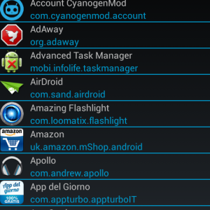 Xposed App Settings Home