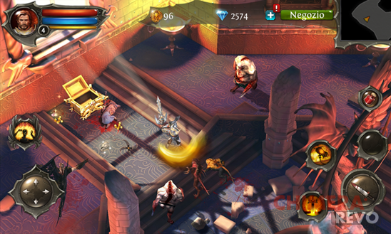 Dungeon Hunter 4 per Windows Phone 8