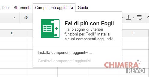 Google Sheet store