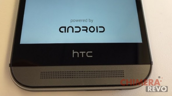 Powered by Android HTC One M8