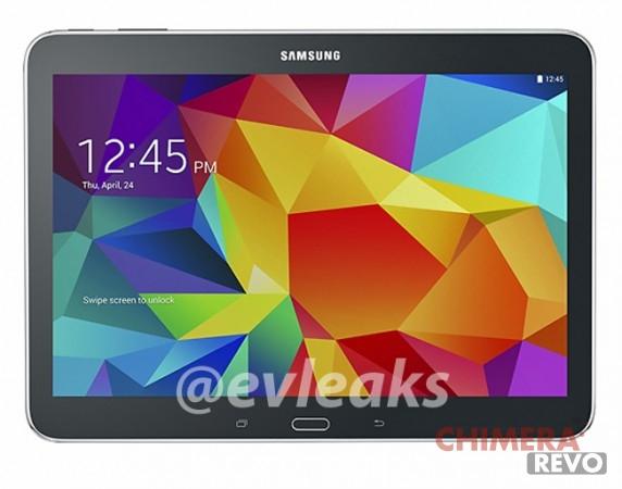 Samsung Galaxy Tab 4 10.1 render nero