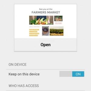 Google Docs Android foto1