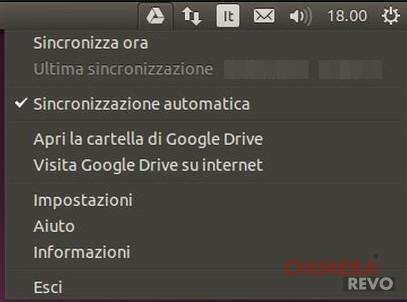 Google Drive indicatore