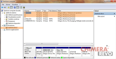 Cancellare partizione Ubuntu