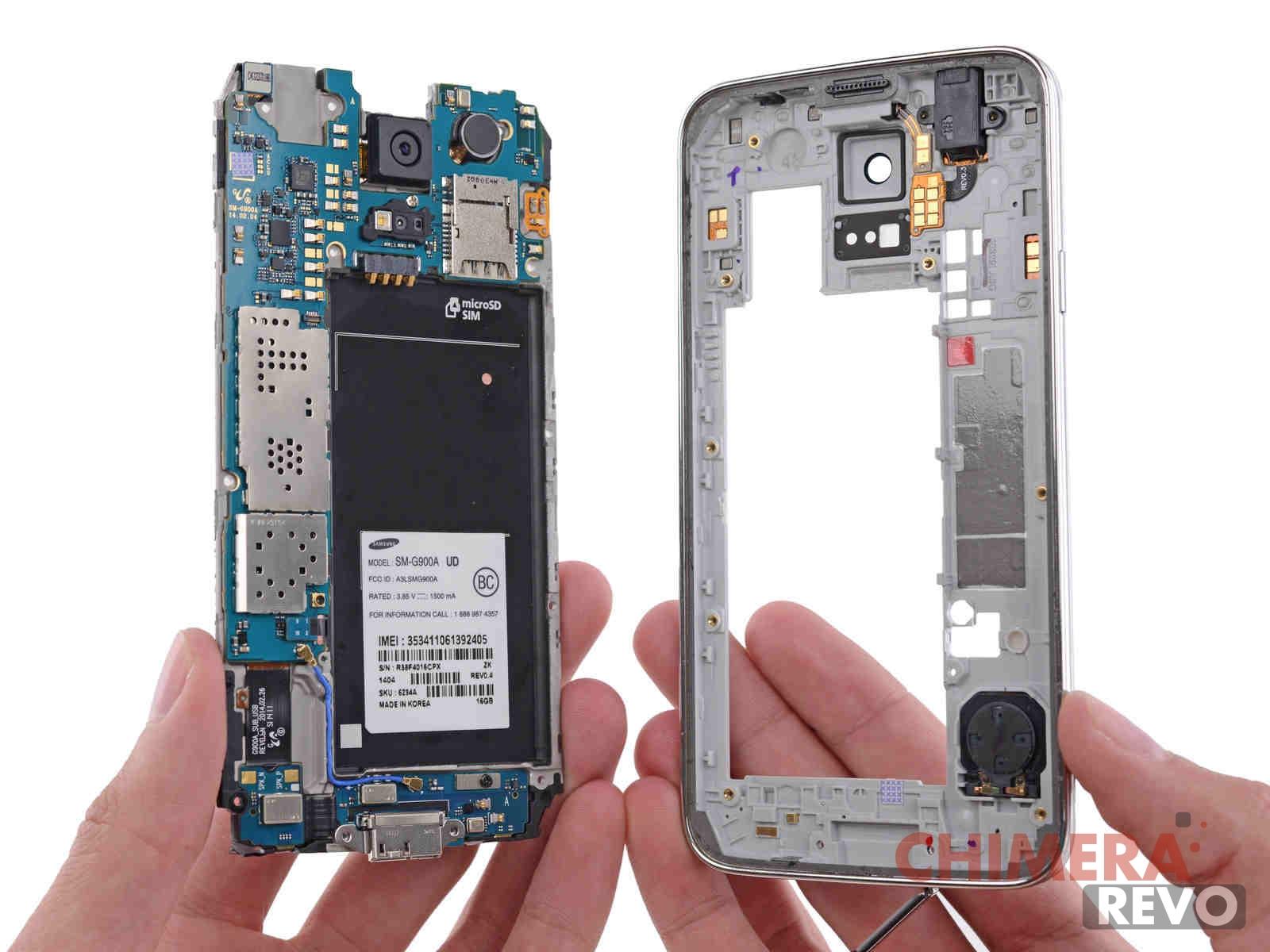 Samsung Galaxy S5 Smontato Ifixit 165344