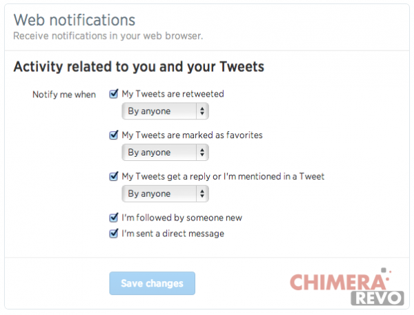 Twitter - Notifiche Real Time