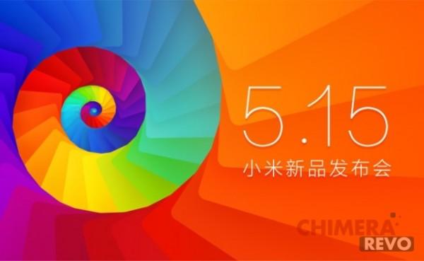 Xiaomi 15 maggio 2014
