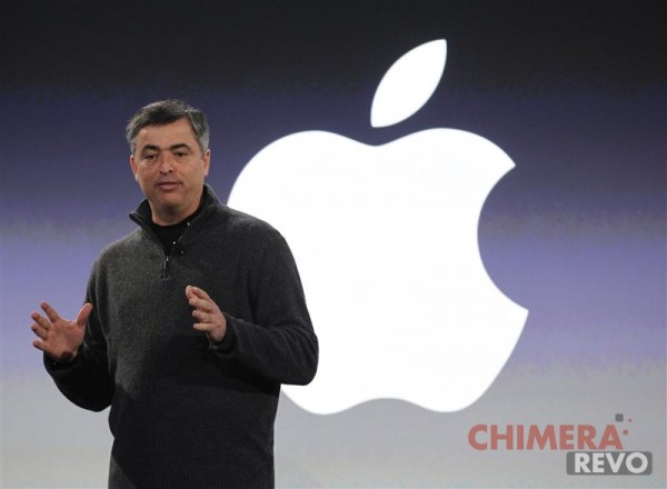 """Apple Vice President Eddy Cue speaks during the introduction of News Corporation's new iPad news publication """"The Daily"""" in New York"""