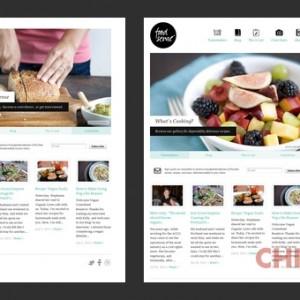 Esempio di web design ''responsive''