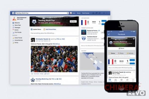 Facebook Mondiali 2014