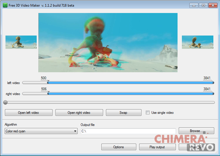 Come convertire film in 3d i migliori programmi chimerarevo for Programmi 3d free