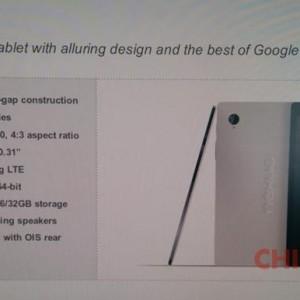 HTC Volantis Nexus 9 foto1