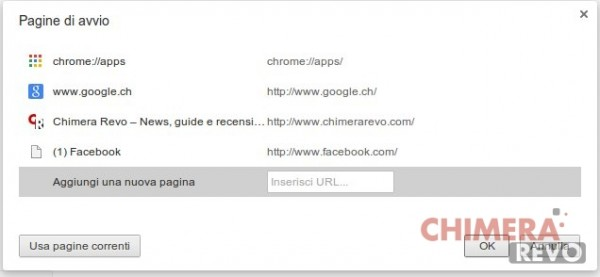 trucchi per google chrome