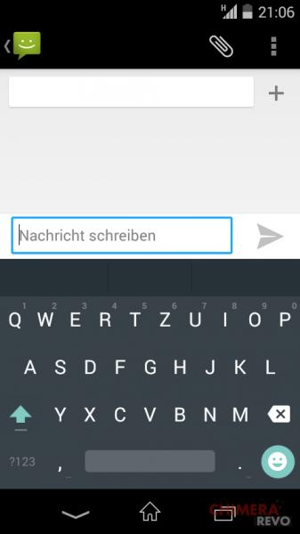 Tastiera Android L