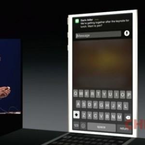 iOS 8 notifiche interattive