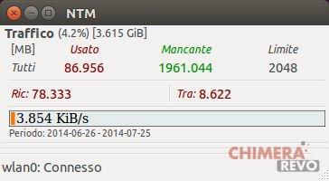 Controllare il traffico dati su Ubuntu