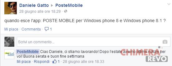 PosteMobile per Windows Phone 8