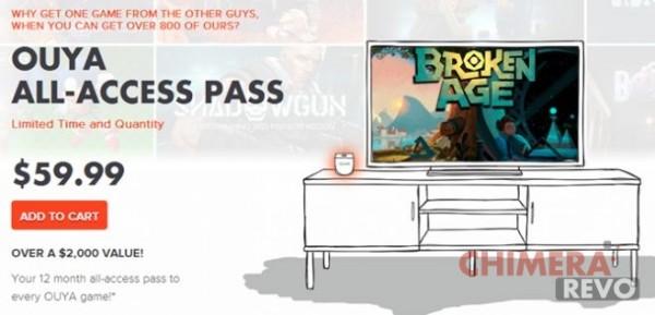 All-Access Pass Ouya