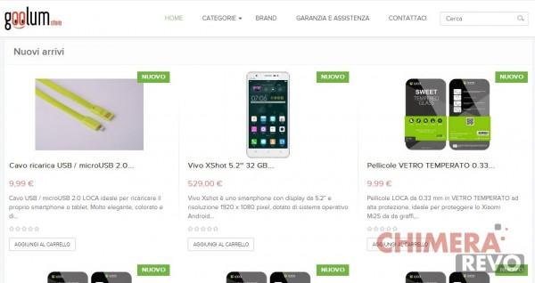 Goolum.com è lo Shop ufficiale di Chimera Revo!
