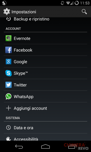 App sincronizzate