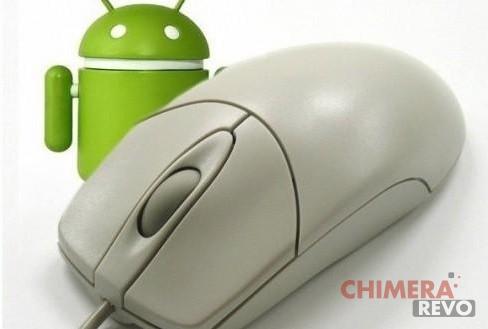 Utilizzare smartphone Android come mouse