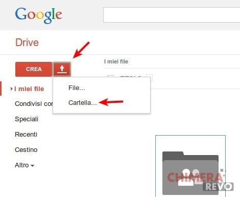 ascoltare musica su Google Drive