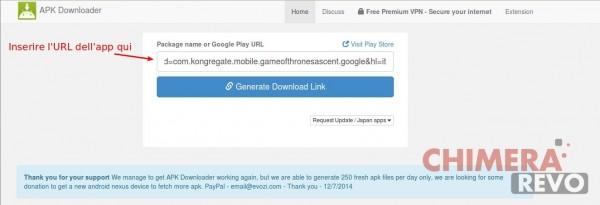 scaricare un'app senza accedere a Google Play Store