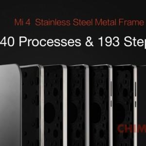 Xiaomi Mi4 pezzo metallo foto2