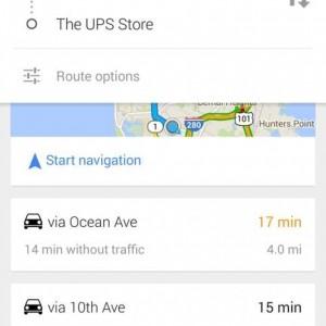 google maps 3 risultato