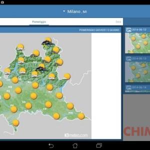 migliori app meteo per Android