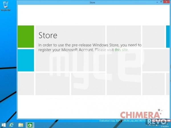 Menu Start - Windows 9 - Windows Threshold