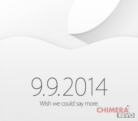 Invito Apple 9 Settembre