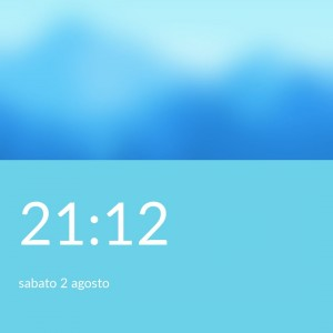 OnePlus One CM11S Lockscreen